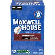 Maxwell House Intense Bold Dark Roast K-Cup® Coffee Pods