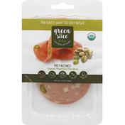 Green Slice Deli Slices, Organic, Vegetarian, Pistachio