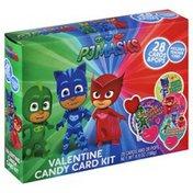 Frankford Candy Card Kit, Valentine, PJ Masks