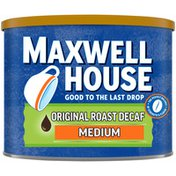Maxwell House The Original Roast Decaf Medium Roast Ground Coffee