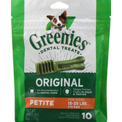 GREENIES Original Petite Daily Dental Treats for Dogs