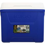 Igloo Cooler, Blue/White, Laguna, 28 Quart
