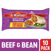 El Monterey Burritos, Beef & Bean, Family Pack