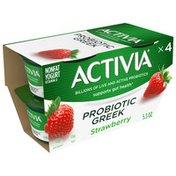 Activia Nonfat Probiotic Strawberry Greek Yogurt