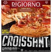 DiGiorno Three Meat Frozen Pizza on a Croissant Crust