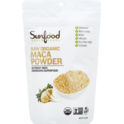 SunFood Superfoods Maca Powder, Raw Organic