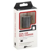 Mobilessentials Wall Charger, Dual USB