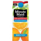 Minute Maid Home Squeezed 100% Orange Juice, Calcium And Vitamin D
