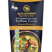 Blue Elephant Yellow Curry Sauce, Thai Premium, Mild