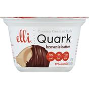 elli Quark, Creamy German Style, Brownie Batter