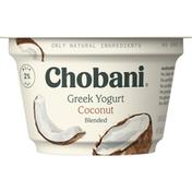 Chobani Greek Yogurt, Coconut Blended