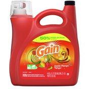 Gain Aroma Boost Liquid Laundry Detergent, Apple Mango Tango Scent