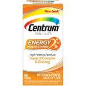 Centrum Specialist Energy Adult Multivitamin, Specialist Energy Adult Multivitamin