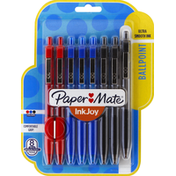 Paper Mate Ballpoint Pens, Medium Point (1.0 mm), Assorted