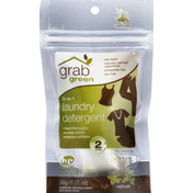 Grab Green Laundry Detergent, 3-In-1, HE, Vetiver