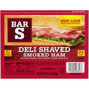 Bar-S Deli Shaved Smoked Ham