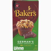 Baker'S German's Sweet Chocolate Premium Baking Bar with 48% Cacao