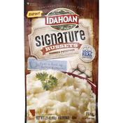 Idahoan Potatoes, Mashed, Signature Russets