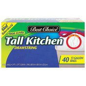 Best Choice Tall Kitchen Trash Bags With Odor Control
