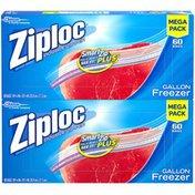 Ziploc Double Zipper Freezer Bags Mega Pack