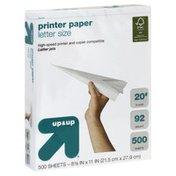 Up&Up Printer Paper, Letter Size