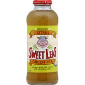 Sweet Leaf Tea Co Green Tea, Organic, Citrus