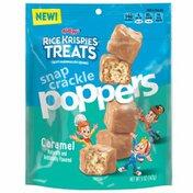 Kellogg's Rice Krispies Treats Marshmallow Breakfast Bites, Breakfast Bar Bites, Kids Breakfast Snacks, Caramel
