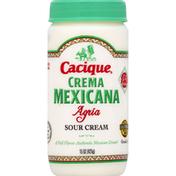 Cacique Sour Cream, Crema Mexicana, Agria