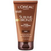 Sublime Bronze Deep Tinted Self-Tanning Lotion