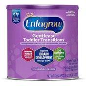 Enfagrow® Toddler Transitions Gentlease Infant & Toddler Formula