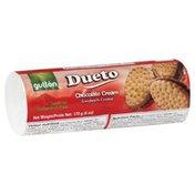 Gullon Dueto, Sandwich Cookie, Chocolate Cream, Wrapper