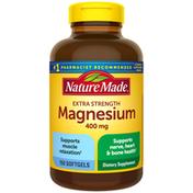 Nature Made High Potency Magnesium 400 mg Softgels
