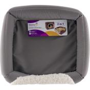 SmartyKat Catnap Convertible Two-Way Cat Bed