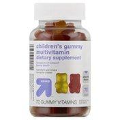 Up&Up Multivitamin, Children's, Assorted Flavors, Gummy