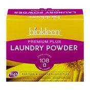 Biokleen Premium Plus Laundry Powder Detergent 108 Loads