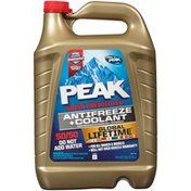 Peak Global Lifetime 50/50 Prediluted Antifreeze & Coolant