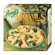 Amy's Kitchen Frozen Bowls, Country Cheddar, Non-GMO