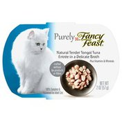 Fancy Feast Purely Natural Tender Tongol Tuna Entree in a Delicate Broth Cat Food
