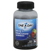 One A Day Adult Multivitamin, VitaCraves Gummies