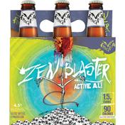 Flying Dog Beer, Active Ale, Zen Blaster