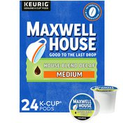 Maxwell House Decaf House Blend Medium Roast K-Cup Coffee Pods