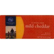 Kroger Cheese, Mild Cheddar