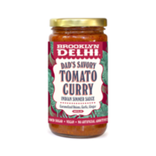 Brooklyn Delhi Dad's Savory Tomato Curry Indian Simmer Sauce