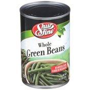 Shurfine Whole Fancy Green Beans