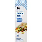 Food Lion Freezer Bags, Reclosable, Gallon Size