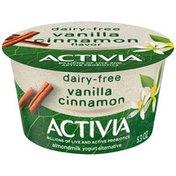 Activia Vanilla Cinnamon Almond Milk Yogurt Alternative