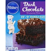 Pillsbury Brownie Mix, Dark Chocolate, Family Size