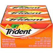 Trident Tropical Twist Slab Gum (Case)