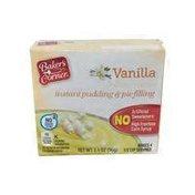 Baker's Corner Instant Vanilla Pudding Mix