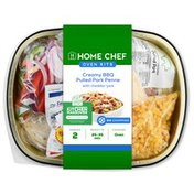 Home Chef Oven Kit Creamy Bbq Pulled Pork Penne With Cheddar-Jack